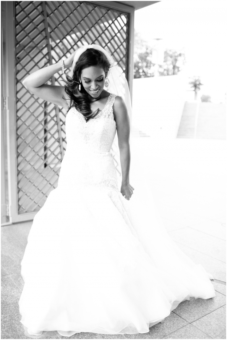 Mr mrs andrade married los angeles wedding for Eva my lady wedding dress